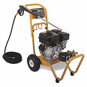 Pressure Washer, Cold Water Type, 3400 psi Operating Pressure, 2.8 gpm Flow Rate