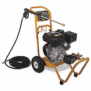 Pressure Washer, Cold Water Type, 4000 psi Operating Pressure, 3.4 gpm Flow Rate
