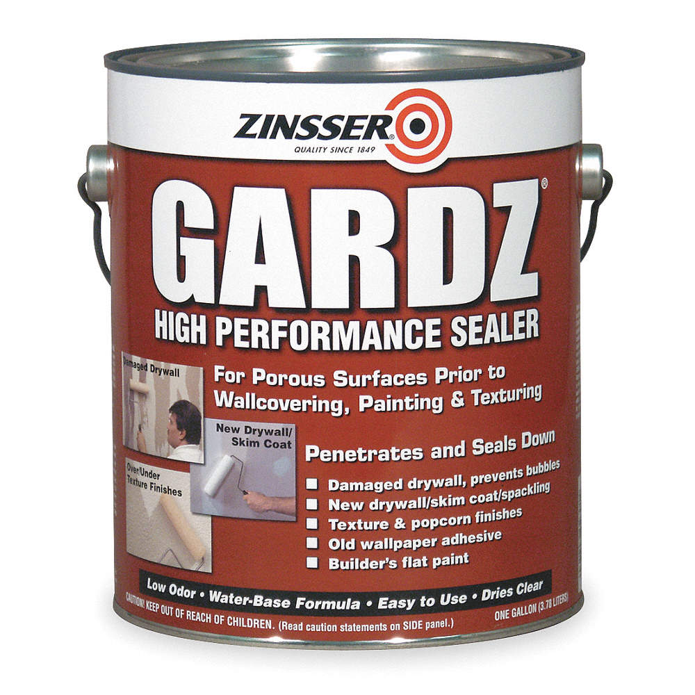 Interior Penetrating Sealer with 350 to 450 sq  ft /gal  Coverage, Flat  Clear, 1 gal