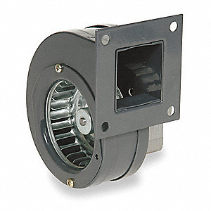 Rectangular OEM Blower With Flange, Voltage 115, 2950 RPM, Wheel Dia. 2-15/16""