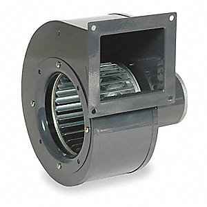 "Rectangular DC OEM Specialty Blower, Flange: Yes, Wheel Dia: 5-1/8"", 12VDC"