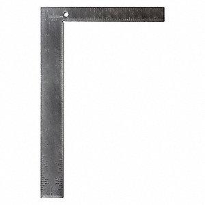 JOHNSON 430 Steel Carpenter/'s Square,8 x 12 In