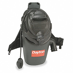 Backpack Vacuum Cleaner,16 qt.,12A