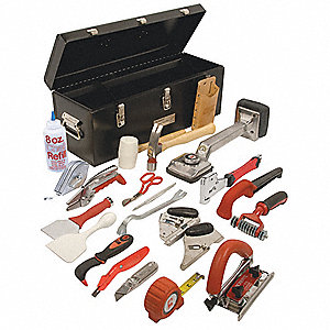 Carpet Installation Kit W/24 In Tool Box