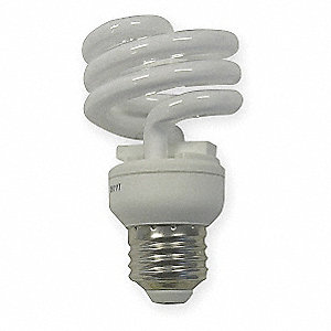 "3-7/8"" Soft White T2 Screw-In CFL, 13.0 Watts, 870 Lumens"