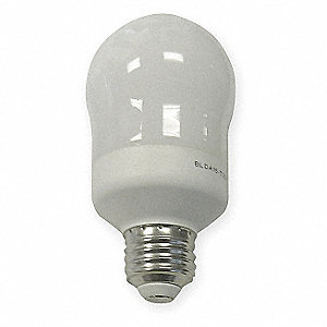 11.0 Watts  Screw-In CFL, A19, Medium Screw (E26), 500 Lumens 2700K Bulb Color Temp.