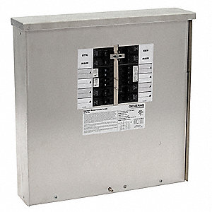 Manual Transfer Switch,50A,125/250V