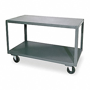 "Fixed Height Work Table, 36"" Depth, 30-1/4"" Height, 72"" Width,1200 lb. Load Capacity"