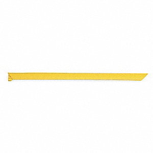 Mat Ramp, Nitrile Rubber, Yellow, 1 EA