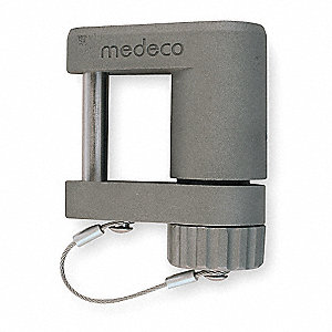 "Keyed Padlock,Different,2-3/4""W"