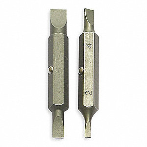 Replacement Bit Set,2-1/4 In. L