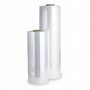 "30"" x 6000 ft. Linear Low Density Polyethylene Machine Stretch Wrap, 80 Gauge, Transparent, 1EA"