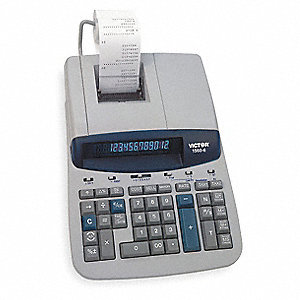 Finance Desktop Calculator,LCD,12 Digits