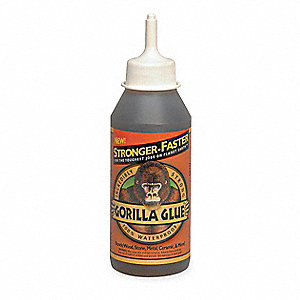 8 oz. Polyurethane All Purpose Glue, Brown