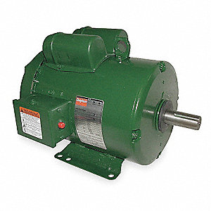3 HP General Purpose Farm Duty Motor,Capacitor-Start,1740 Nameplate RPM,230 Voltage,Frame 184T
