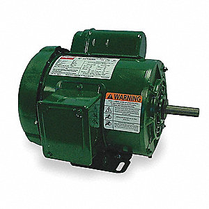 1/2 HP General Purpose Farm Duty Motor,Capacitor-Start,1725 Nameplate RPM,115/230 Voltage