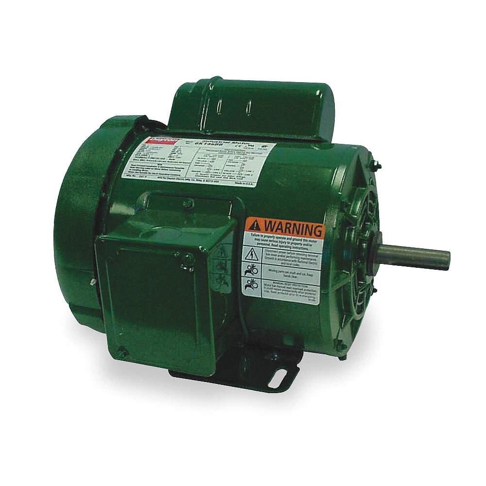 DAYTON 1/2 HP High Torque Farm Duty Motor,Capacitor-Start ... on