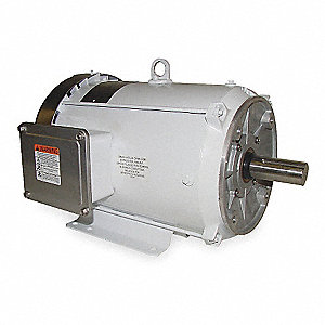 10 HP Washdown Motor,3-Phase,1765 Nameplate RPM,230/460 Voltage,Frame 215TC