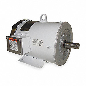 5 HP Washdown Motor,3-Phase,1760 Nameplate RPM,230/460 Voltage,Frame 184TC