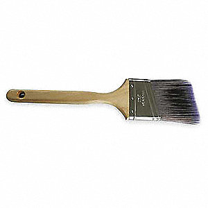 "2-1/2"" Angle Sash Polyester Paint Brush, Firm, for All Paint & Coatings"