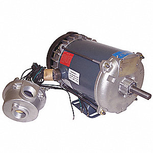 1/2 HP Hazardous Location Motor,3-Phase,1140 Nameplate RPM,208-230/460 Voltage,Frame 56