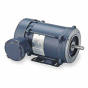 3/4 HP Hazardous Location Motor,3-Phase,1725 Nameplate RPM,230/460 Voltage,Frame 56C