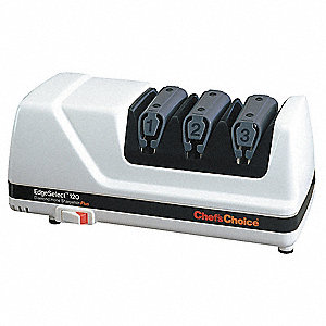 "3-Stage Electric Knife Sharpener, 10"" x 4-1/4"" x 4-1/4"""