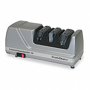 ELECTRIC KNIFE SHARPENER, 3 STAGE