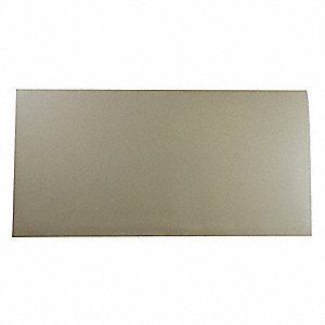 "Neoprene Rubber Sheet, 12""W x 2 ft.L x 3/32""Thick, 50A, Plain Backing Type, 500% Elongation, White"
