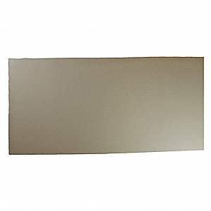 "Neoprene Rubber Sheet, 12""W x 3 ft.L x 3/32""Thick, 50A, Plain Backing Type, 500% Elongation, White"