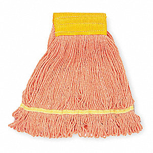 Quick Change, Side-Gate Cotton String Wet Mop Head, Blue