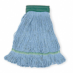 Cotton/Rayon/Synthetic Blend Looped-End Wet Mop, 1 EA