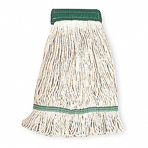 Cotton Looped-End Wet Mop, 1 EA