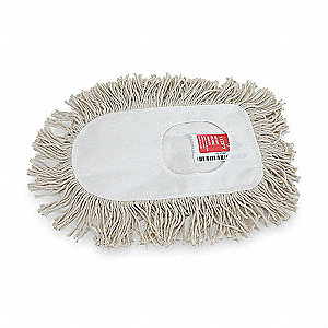 Wedge Mop,White