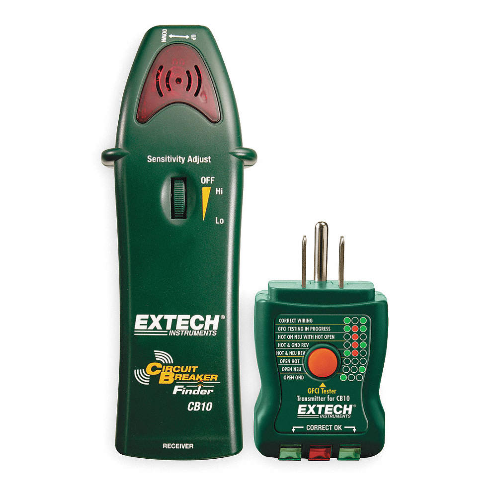 Extech Circuit Breaker Finder 120vac Enrgzd Lns 1tzp4 Cb10 Featured Electrical Tracers And Testers At Test Equipment Zoom Out Reset Put Photo Full Then Double Click