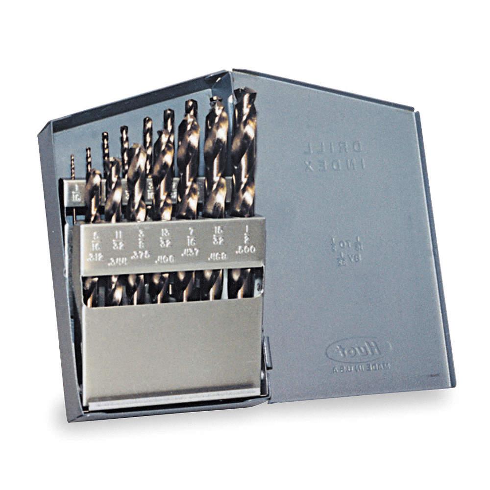Chicago-Latrobe Screw Machine Drill Bit Size 14 High Speed Steel Bright List Number 157L 49084-2 Packs