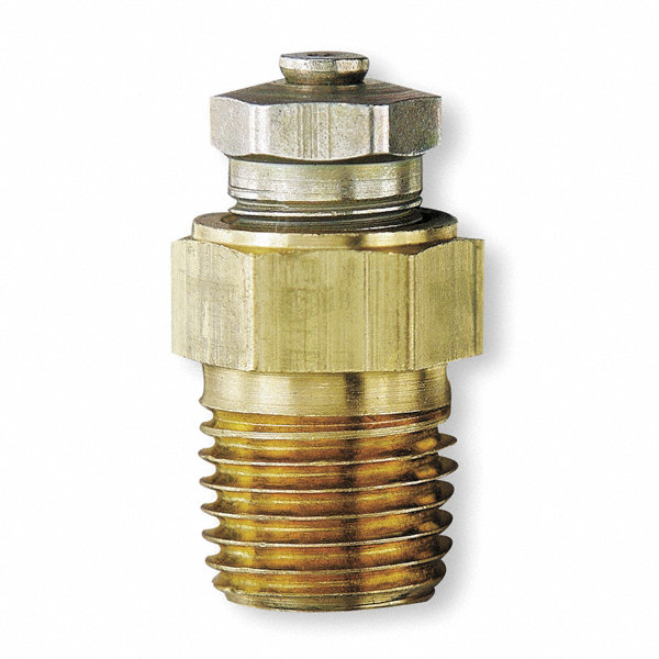 Lube quot brass and plated steel relief filler vent plug