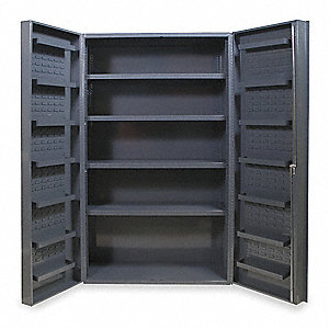 "Bin Cabinet, 84"" Overall Height, 48"" Overall Width"