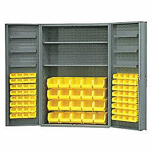 Bin Cabinet,72 In. H,48 In. W,24 In.
