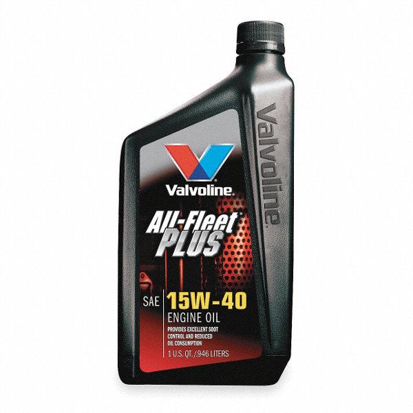 Valvoline valvoline all fleet plus 15w40 1 qt 1uby6 for Valvoline motor oil test