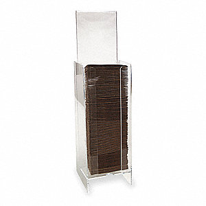 Acrylic Coffee Jacket Dispenser, Holds Coffee Jackets