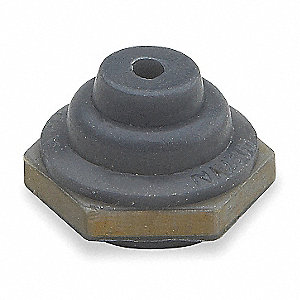 "Toggle Switch Boot, 5/64"" Inside Dia., 7/16"" Height, 5/8"" Length"