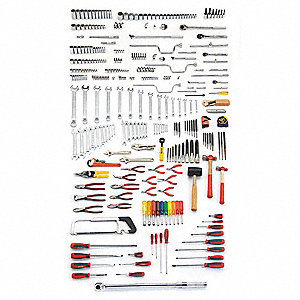 SAE Master Tool Set, Number of Pieces: 334, Primary Application: Technician