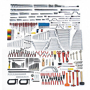 SAE, Metric Master Tool Set, Number of Pieces: 558, Primary Application: Technician