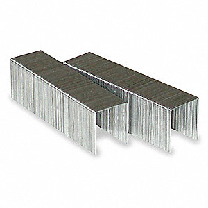 Staples, HD, 1/2 InCrown, 5/8 In Leg, PK2500