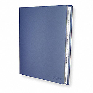 Document Organizer,Blue,8 Tabs