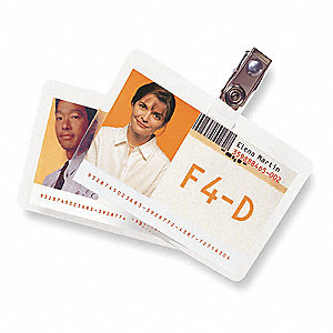 Laminating Pouches W/Clips,PK25