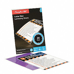 Laminating Sheets,12x9in,PK10