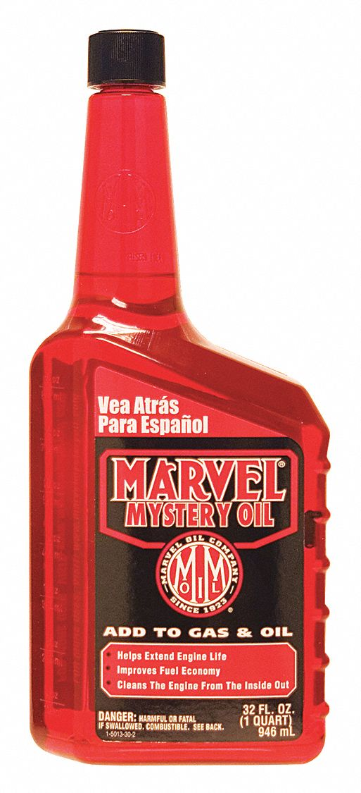 Oil Additive, 32 Oz, Red, Transparent