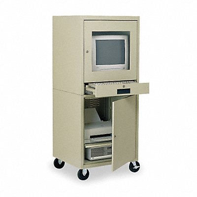 1UG96 - Computer Cabinet 21 x 22-1/2 x 59-1/2 In